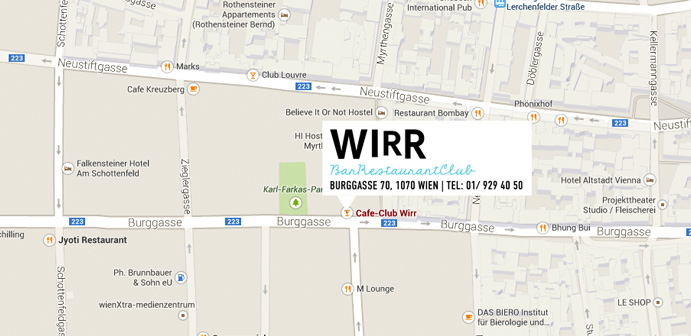 Wirr Bar Restaurant